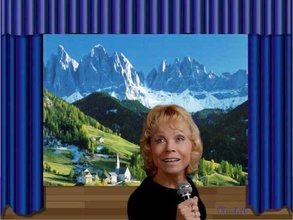 """Isabelle Aubret """" La montagne """""""